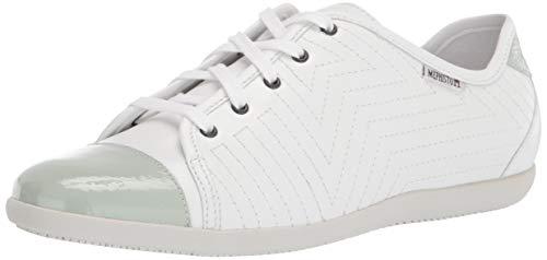 Mephisto Women's Sneaker, White, 8.5