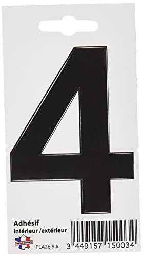 PLAGE Número Adhesivo 9 cm