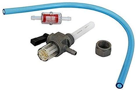 SET Benzinhahn mit Wassersack Benzinschlauch Benzinfilter für Simson S50, S51, S70