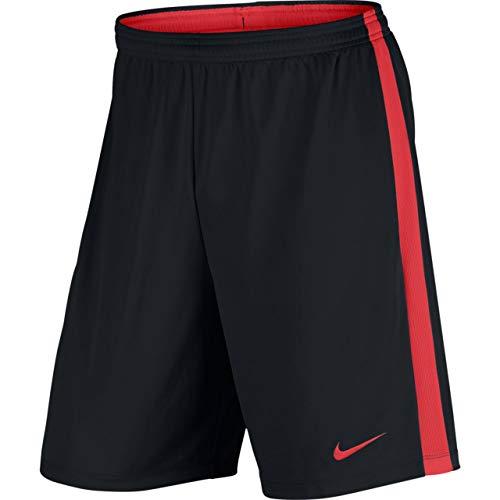 Nike Dry Academy, Pantaloncini Calcio Uomo, Nero/Lt Crimson/Lt Crimson, XL