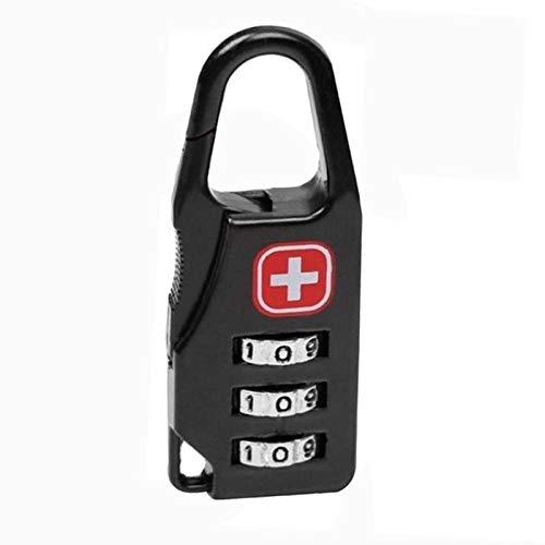 Slot, draagbare legering, mini-lock-hangslot, outdoor, reisbagage, ritssluiting, rugzak, handtas, safe, anti-diefstal-combinatie, code-nummer slot