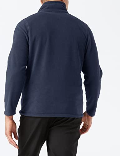 Regatta Chaqueta de microforro polar con cremallera completa para hombre, talla 3XL, color azul marino oscuro