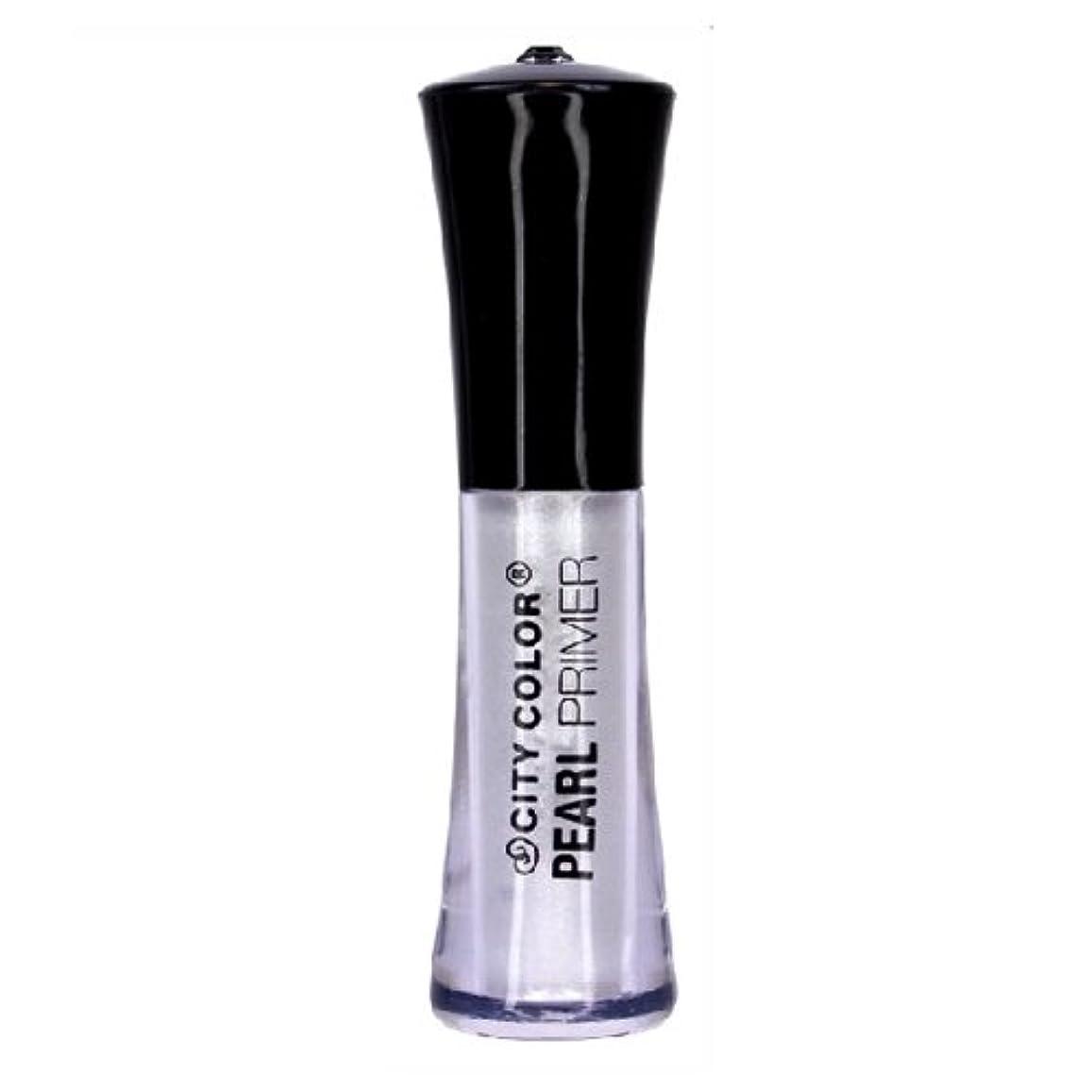 寛解検証影響力のある(6 Pack) CITY COLOR Eyeshadow Primer - Pearl (並行輸入品)
