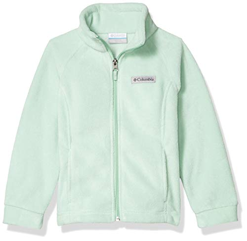 Columbia Girls' Big Benton Springs Jacket, Soft Fleece, Classic Fit, New Mint, Large