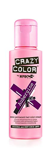 Crazy Color by Renbow 50 Aubergine No. 100 ml