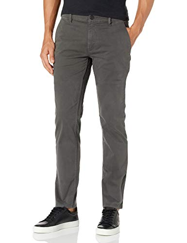Hugo Boss Herren Slim-Fit Chino Trouser Pant Freizeithosen, anthrazit, 34W / 34L
