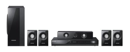 Samsung HT-C550 5.1 DVD Heimkinosystem (Full-HD, DivX, 1000 Watt) perlschwarz