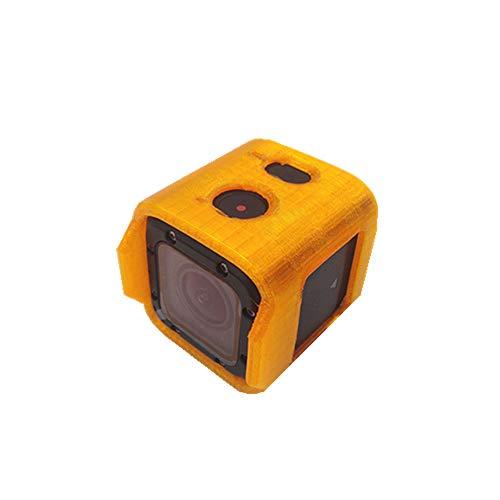 BouBou Uruav TPU Kamera Schutzhülle Halterung Orange Für Foxeer Box 2 FPV Kamera