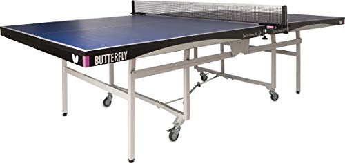Butterfly Space Saver 22 Rollaway Table Tennis Table - Professional Ping Pong...