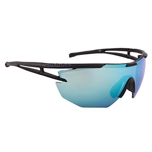 ALPINA Eye-5 Shield cm Outdoorsport-Brille, Black Matt, One Size