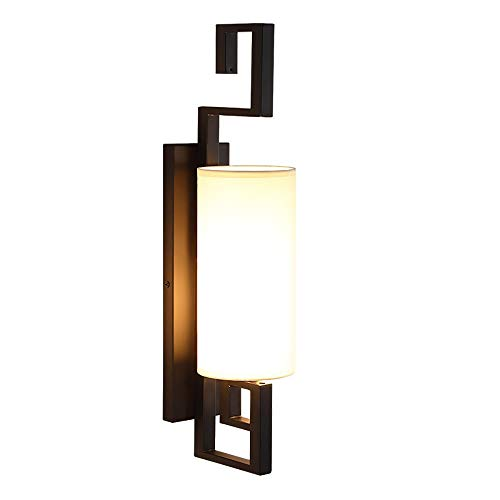 M/P Outdoor Wall Light Exterior Modern Wall Lamp Garden LED Outside Wall Lighting Sconce Black Fixtures Wall Mount Lamp IP65 Waterproof for Indoor Outdoor Porch Patio, 7W White