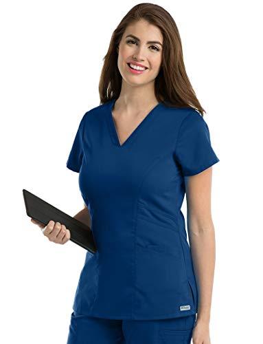 Grey's Anatomy 41452 Women's Mia Top Indigo M
