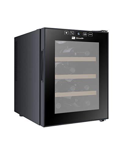 Climadiff - Caja de servicio con control táctil, ultrasilencioso y sin vibración, ahorra espacio, 12 botellas
