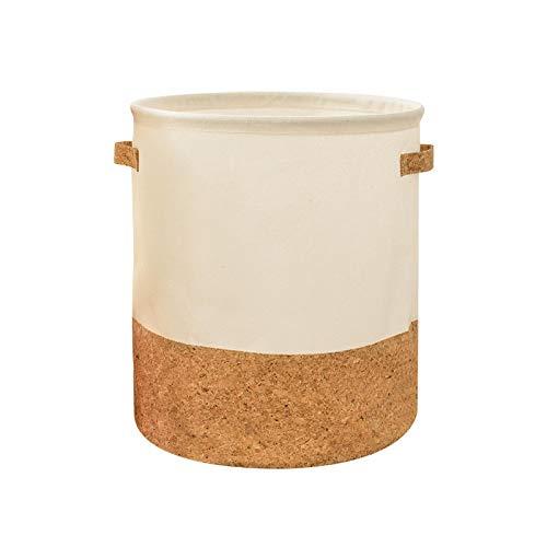 aolongwl Cesto Ropa Sucia Plegable Cesta Impermeable niños Juguete Ropa Organizador Almacenamiento Grande algodón Ropa de Cama hogar Sundries 30x35cm