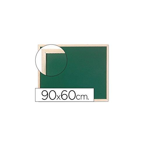 Q-Connect Pizarra Verde Marco De Madera 90X60 Sin
