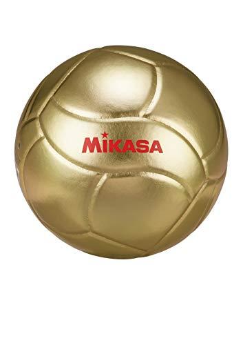 MIKASA Unisex– Erwachsene VG018W Volleyball, Gold, 5