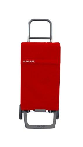 Rolser Einkaufsroller Joy/NEO / NEO001 / rot / 35 x 30 x 97,5 cm / 38 Liter / 40 kg Tragkraft