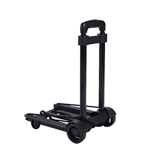 SONGDP Handwagen Faltbarer Gepäckwagenwagen Einkaufswagen Einkaufswagenwagen Kinderwagen Gewichtslimit 25kg