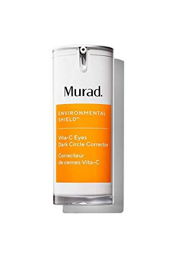 Murad Environmental Shield Vita-C Eyes Dark Circle Corrector - Dark Circle Eye Treatment - Gold Stabilized Vitamin C Skin Care Eye Serum - Anti-Aging Under Eye Cream for Dark Circles, 0.5 Fl Oz