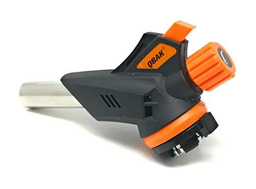 Qback - Gasbrenner - Lötlampe - Lötbrenner - Bunsenbrenner - Gasbrenner - Flambierbrenner - Küchenbrenner - 22 mm