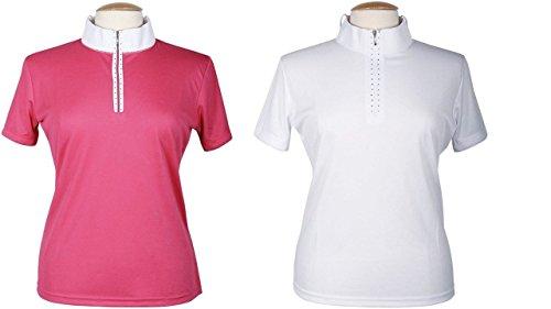 Harry's Horse Damen Turniershirt Champ-Xs, Weiß