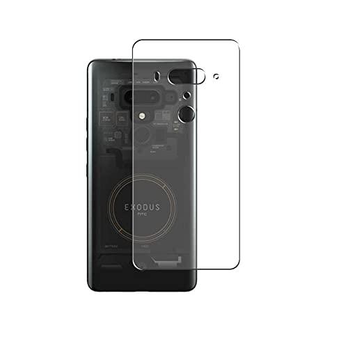 Vaxson 2 Stück Rückseite Schutzfolie, kompatibel mit HTC Exodus 1, Backcover Skin TPU Folie [nicht Panzerglas/nicht Front Bildschirmschutzfolie]