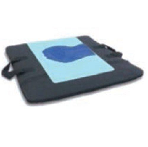 Cojín de Gel antiescaras. Extraplano ideal para silla o cama. 40x40x2 cm. Gel de poliuretano en 3D para mayor alivio de presión.
