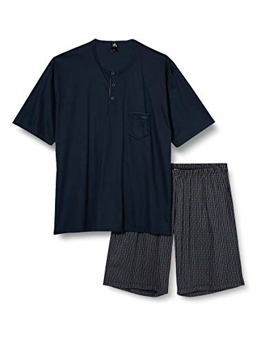 CALIDA Herren Relax Selected 4 Pyjamaset, Dark Sapphire, L