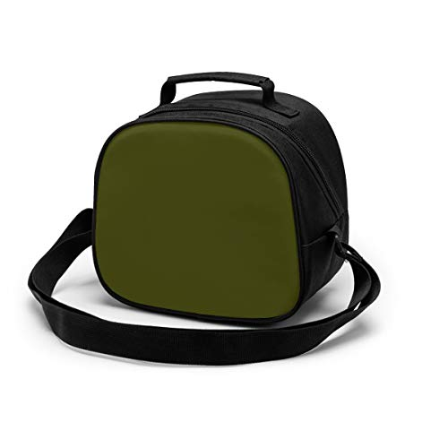Lunch Box for Kids,Dark Olive Insulated Lunch Bag Mini Cooler Thermal Meal...