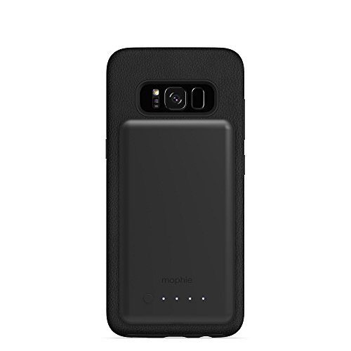 mophie charge force magnetic case & powerstation mini Made for Samsung Galaxy S8 - Black