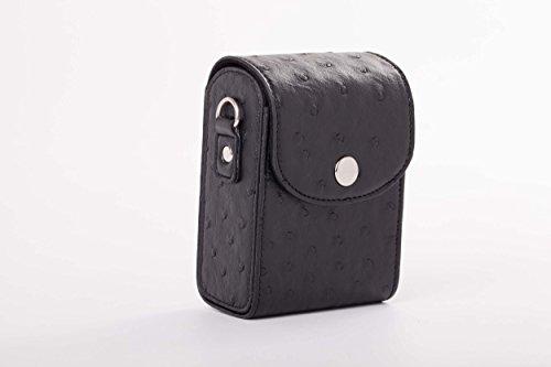 vhbw Universal Tasche Gürteltasche schwarz passend für Kamera Casio Exilim EX-ZR100, EX-ZR15, EX-ZR20, EX-ZR200, EX-ZR300, EX-ZR400, EX-ZS10, EX-ZS100