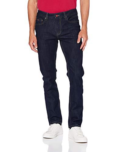 Springfield Herren Jeans Zg Bi-Stretch Slim Rinse-c/10 Hose, Blau (Navy 175736910), 38 (Herstellergröße: 40)