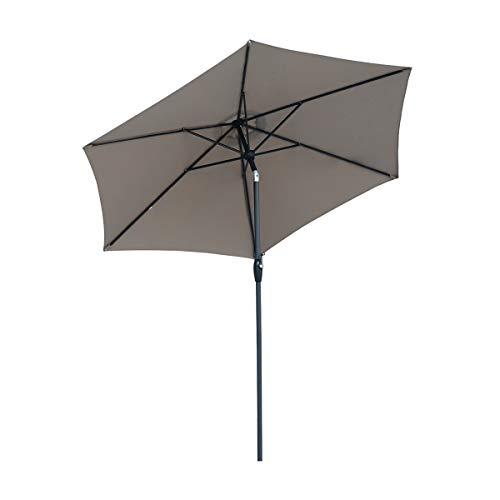 Sekey® 9ft / 2.7m Garden Parasol Umbrella Outdoor Sun Shade for Patio/Beach/Pool Umbrellas with Winding Crank & Tilt...