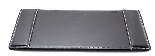 Bureau-onderlegger Desk Pad zwart 58 x 38 cm hoogwaardige design serie