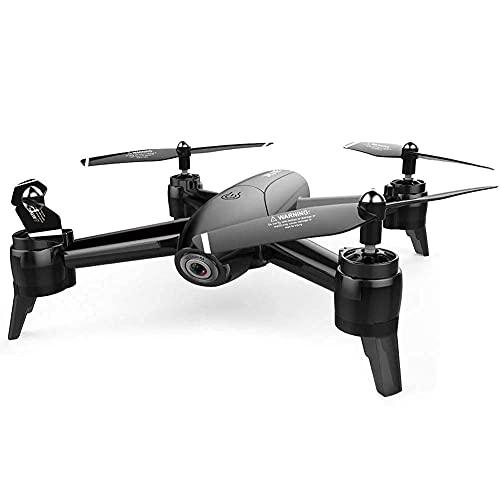 Drone a Flusso Ottico con Doppia Fotocamera grandangolare 1080P, Quadcopter per Fotografia con Gesto di Mantenimento dell'altitudine WiFi FPV