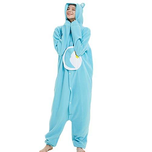 Onesie Care Bear Jumpsuit Fleece Animal Soft Pajamas Christmas Gift Halloween Cosplay Suit