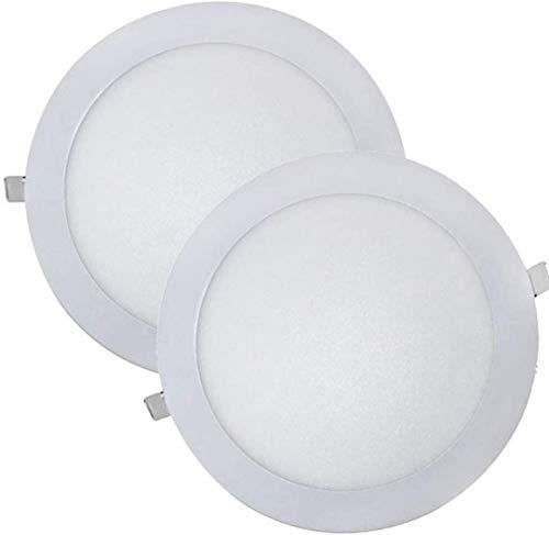 Pack de 2 - PANEL LED - DOWNLIGHT LED TECHO- 20W Blanco...