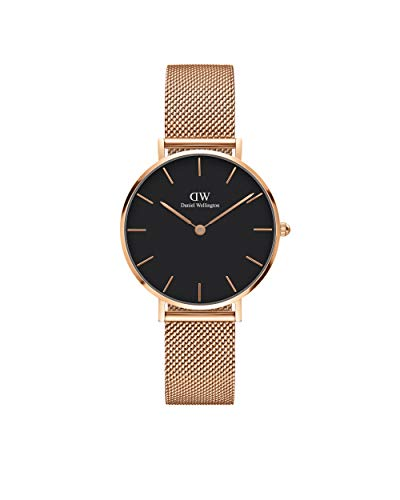 Daniel Wellington Petite Melrose Rose Gold Watch, 28mm, Mesh, for Men and Women