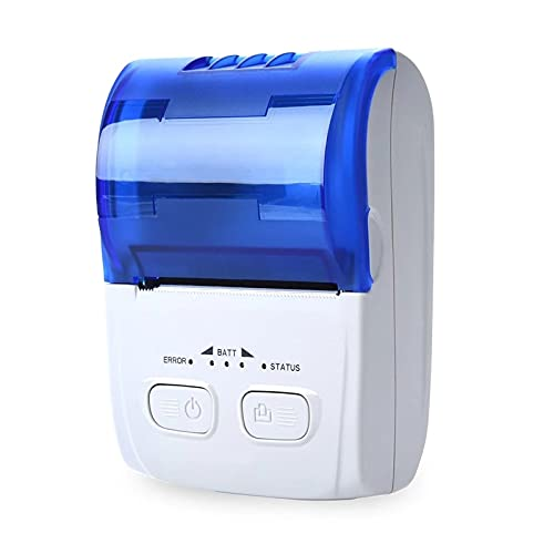 ChengBeautiful Imprimante De Reçus Prise De Réception D imprimante Thermique Prise d impression De La Machine USB + BT Connection (Couleur : White, Size : One Size)