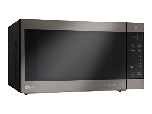LG NeoChef 2.0 Cu. Ft. Countertop Microwave in Stainless Steel Black Stainless Steel