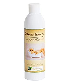 Shampoing pour chat | bio | sans substance chimique et savon | hypoallergénique | anti-démangeaisons | au ghassoul marocain | 250ml | pour les poils courts et longs | pour un pelage brillant