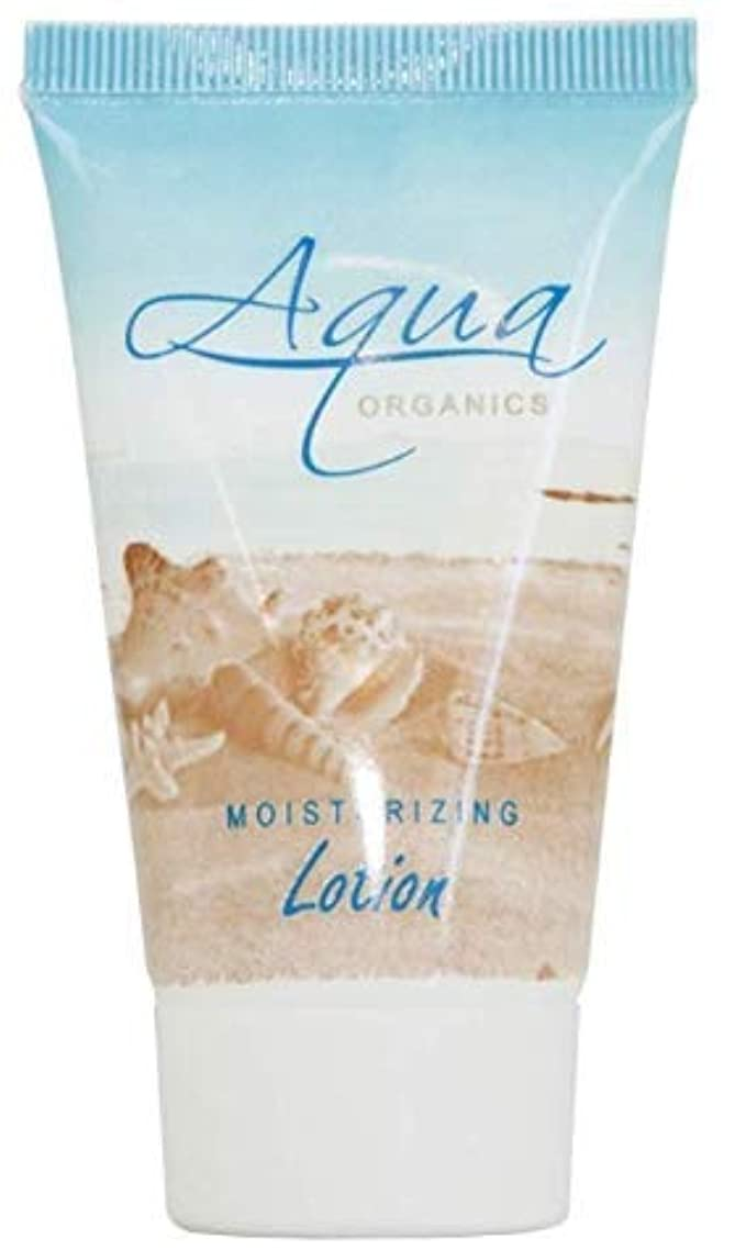 Aqua Organics Lotion, Travel Size Hotel Amenities, 1 oz (Case of 100)