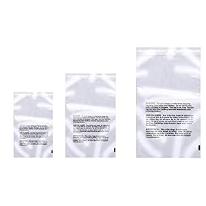 2 Mil Flat Suffocation Warning Poly Bags44; Clear Box Partners PBM14202100 14 x 20 in Pack of 100