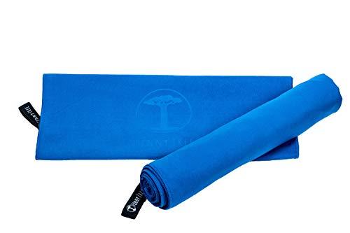 Funny Tree® Microfaser Handtücher (royal blau) 70x140cm   schnelltrocknend platzsparend Ultraleicht  Reisehandtuch Sporthandtuch Yoga Fitness Strand