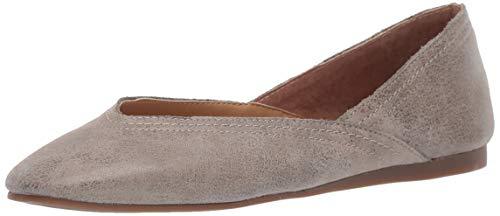Lucky Brand womens Lk-alba flats shoes, Titanium, 9.5 US