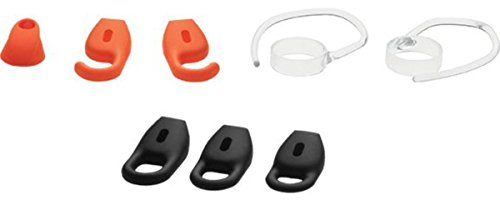 Jabra Stealth Accessory Pack Ganci Auricolari, 2 Pezzi, Diverse Dimensioni di Eargel, 6 Pezzi