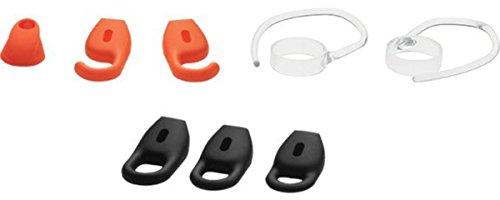 Jabra Stealth Zubehör-Set mit 2 EarWings (Ohrhaken) und 6 Eargels in unterschiedlichen Größen