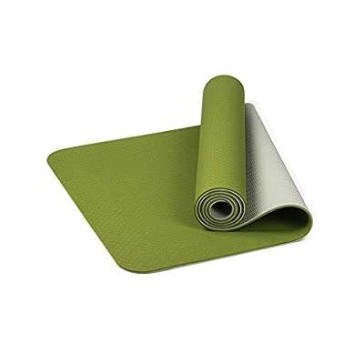 TPE Eco Yoga Mat Classic Pro Non Slip Yoga Mat Friendly Fitness Exercise Mat