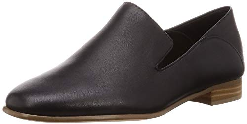 Clarks Damen Mokassin, Schwarz (Black Leather), 42 EU