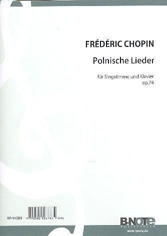 17 Poolse liedjes op.74: voor zang (hoog) en piano (dt/en)